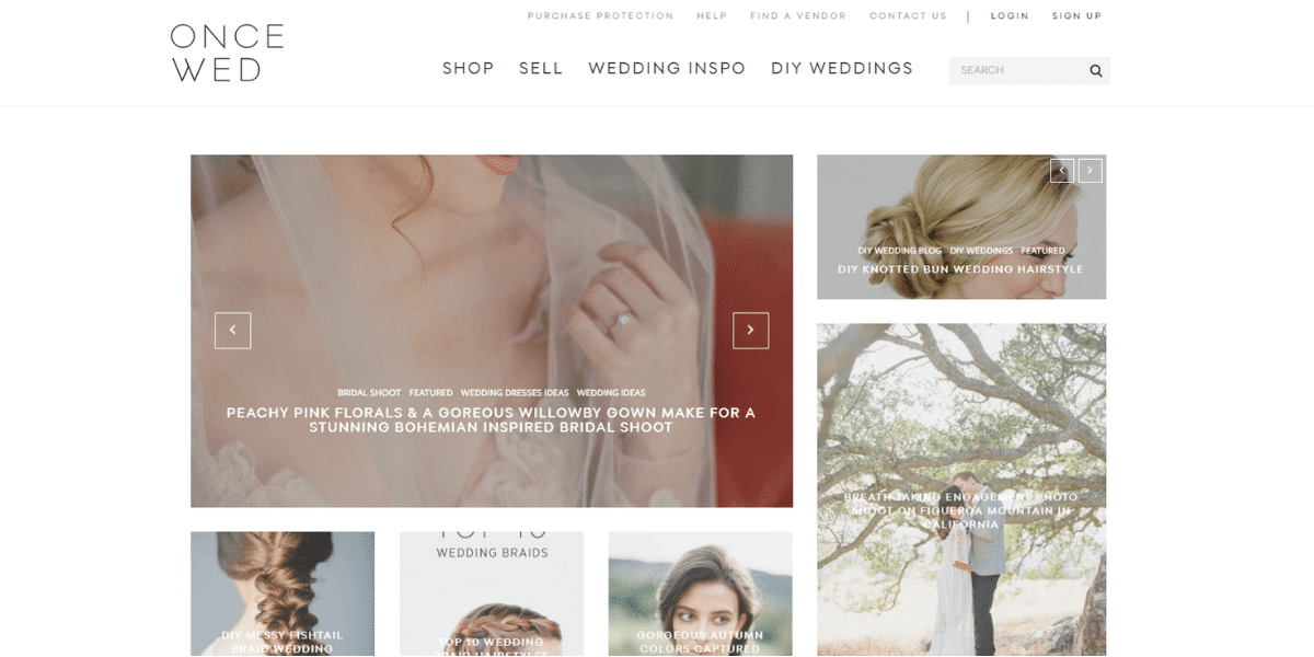 The best sites to sell your wedding dress online Once Wed