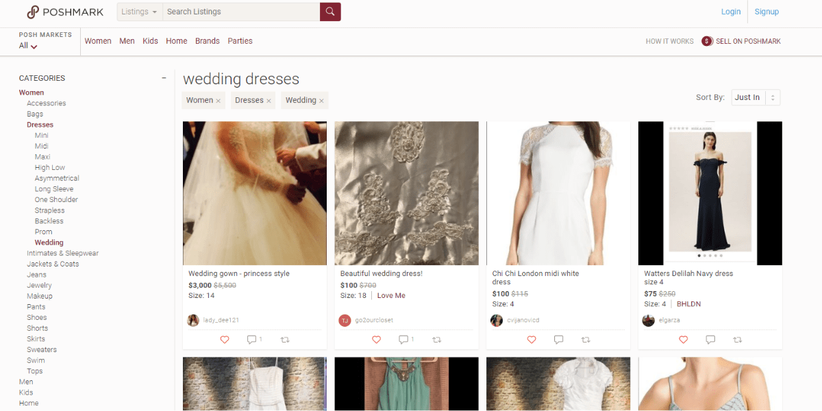 The best sites to sell your wedding dress online Poshmark