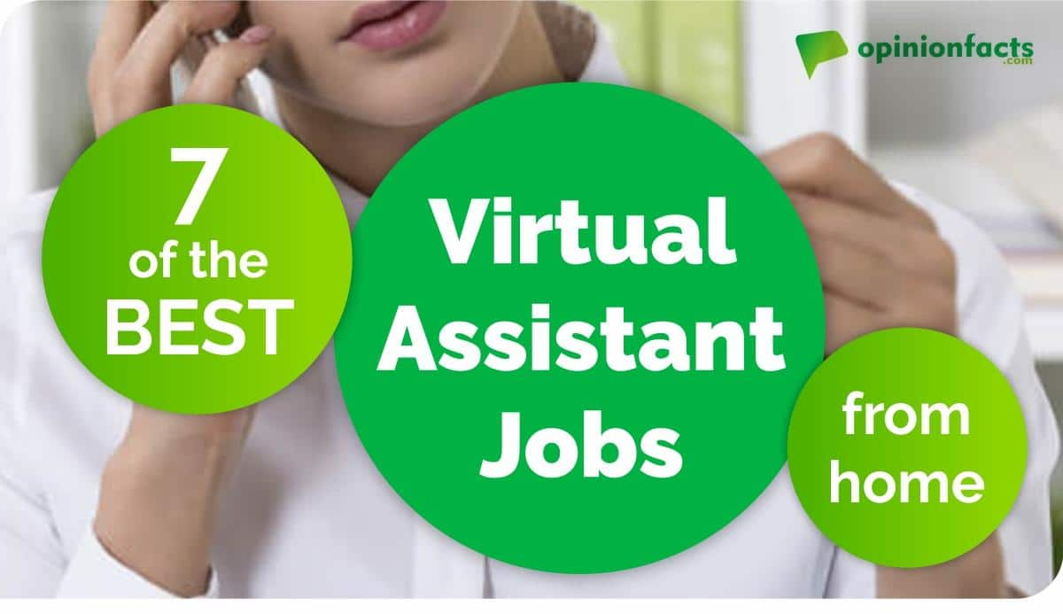 best virtual assistant jobs from home