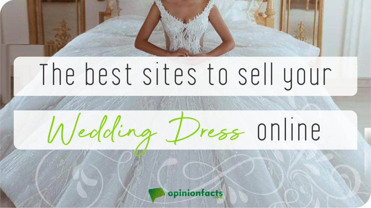 The best sites to sell your wedding dress online