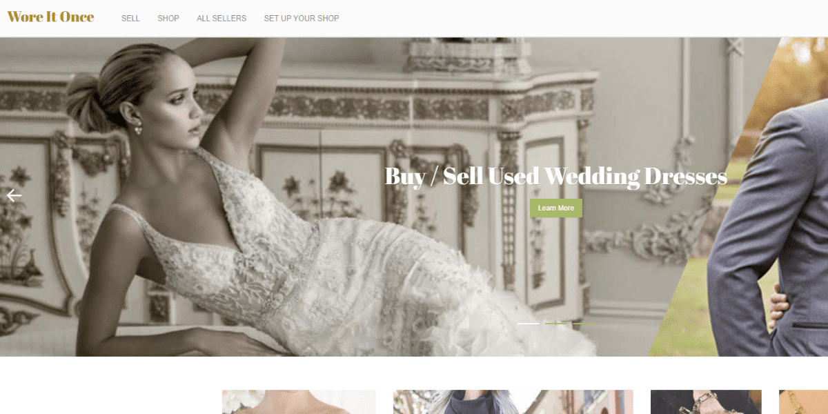 The best sites to sell your wedding dress online Wore It Once