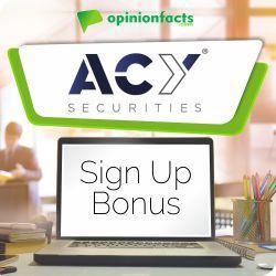ACY Securities - Sign Up Bonus