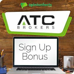 ATC Brokers - Sign Up Bonus