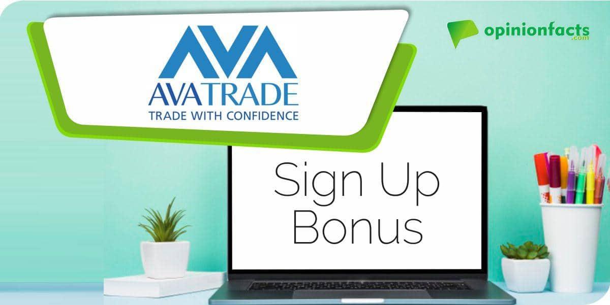 AvaTrade - Sign Up Bonus