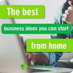Business Ideas you can start from home