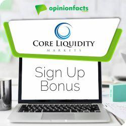 Core Liquidity - Sign Up Bonus