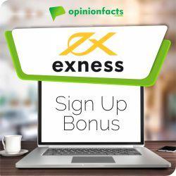 Exness - Sign Up Bonus