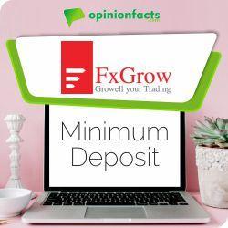 FX Grow - Minimum Deposit