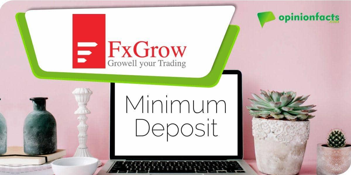 FXGrow -Minimum Deposits