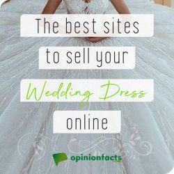 Best sites to sell your wedding dress online
