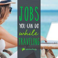 Jobs you can do while traveling
