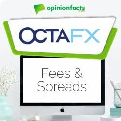 OctaFX - Fees & Spreads